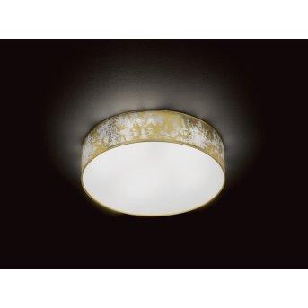 Wofi LEIKA ceiling light LED gold, 1-light source