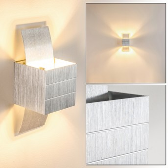BALTIMORE wall light LED aluminium, 1-light source