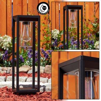 Baoshan pedestal light black, 1-light source