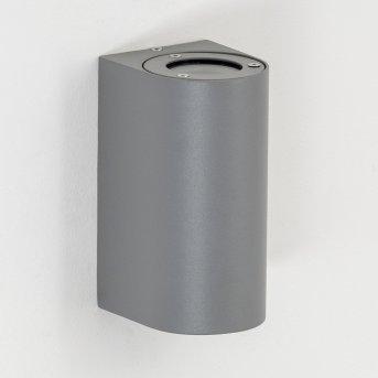 Boda Outdoor Wall Light grey, 2-light sources