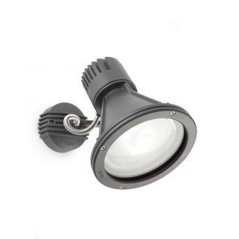 Faro PROJECT Outdoor Spotlight grey, 1-light source