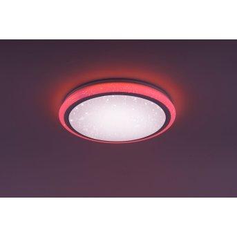 Leuchten Direkt Luisa Ceiling Light LED white, 2-light sources, Remote control, Colour changer