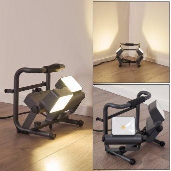 DYNDVED Outdoor Spotlight LED grey, 2-light sources