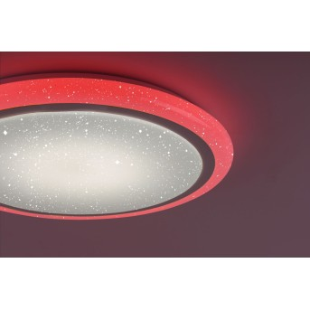 Leuchten Direkt LUISA Ceiling Light LED white, 1-light source, Remote control, Colour changer