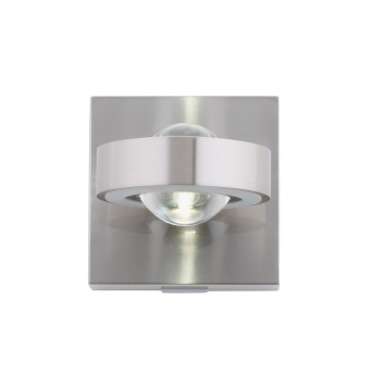 Paul Neuhaus Q-MIA Wall Light LED silver, 4-light sources, Remote control, Colour changer