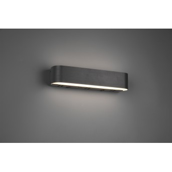 Trio ADRIANA Wall Light LED black, 1-light source, Remote control, Colour changer