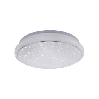 Leuchten Direkt LS-JUPI Ceiling Light LED white, 1-light source, Remote control, Colour changer