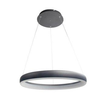WOFI CLINT Pendant Light LED black, 1-light source, Remote control