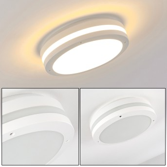 Wollongong outdoor ceiling light LED white, 1-light source