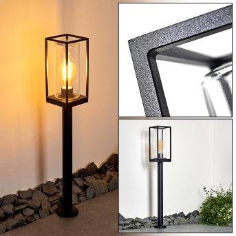 PALANGA Floor Lamp black, 1-light source