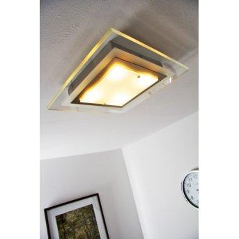 Masterlight ceiling light LED matt nickel, 4-light sources