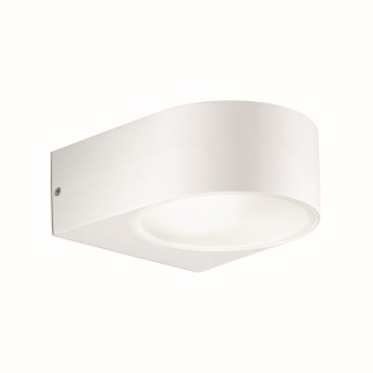 Ideal Lux IKO Outdoor Wall Light white, 1-light source