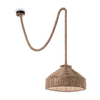 Ideal Lux CANAPA Pendant Light black, brown, 1-light source