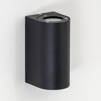 Boda Outdoor Wall Light black, 2-light sources