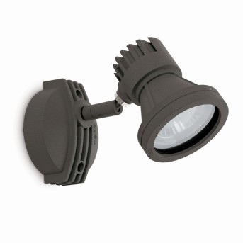 Faro MINI-PROJECT Outdoor Spotlight grey, 1-light source