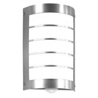 CMD AQUA MARCO Wall Light stainless steel, 1-light source, Motion sensor