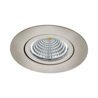 Eglo SALICETO recessed light LED matt nickel, 1-light source