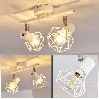 GULLSPANG Ceiling Light white, 2-light sources