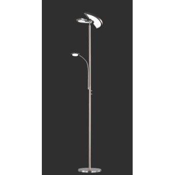 Trio-Leuchten Split Floor Lamp LED matt nickel, 1-light source