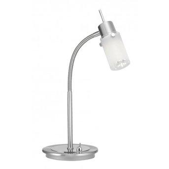 Leuchten Direkt MAX LED Table Lamp stainless steel, 1-light source