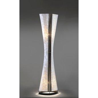 Paul Neuhaus ABUJA floor lamp black, white, 2-light sources