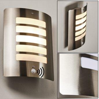 ALSLEV Outdoor Wall Light stainless steel, 1-light source, Motion sensor