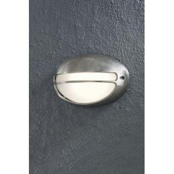 Konstsmide TORINO wall light aluminium, 1-light source