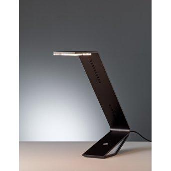 Tecnolumen Flad Table lamp LED black, 1-light source