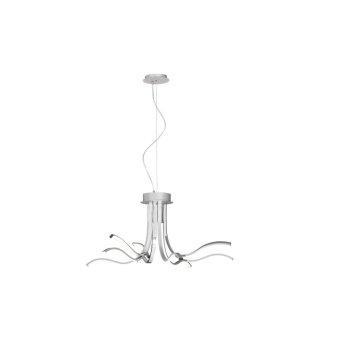 Mantra CORINTO Ceiling Light LED chrome, 1-light source