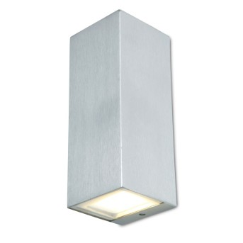 Lutec LUCA Outdoor Wall Light LED stainless steel, 1-light source