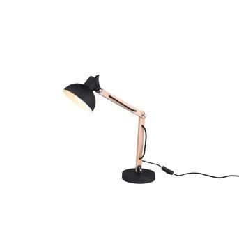Table Lamp Trio Leuchten KIMI black, 1-light source