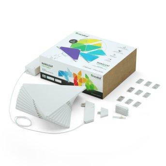 Nanoleaf Aurora Rhythm Smarter Kit - 9 Pack LED white, 1-light source, Remote control, Colour changer