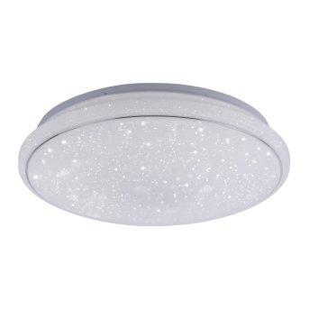 Leuchten Direkt LS-JUPI Ceiling Light LED white, 1-light source, Remote control, Colour changer