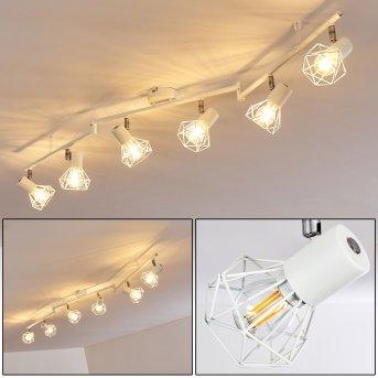 GULLSPANG Ceiling Light white, 6-light sources