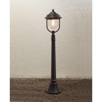 Konstsmide Parma path light black, 1-light source