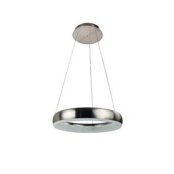 WOFI CLINT Pendant Light LED matt nickel, 1-light source, Remote control