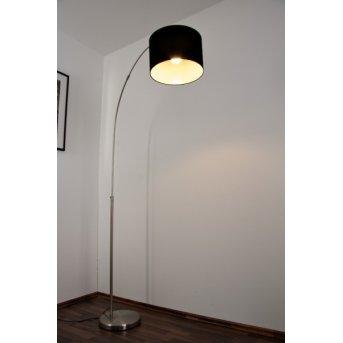 Trio 4611 floor lamp matt nickel, stainless steel, 1-light source