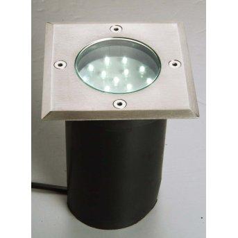 Lutec BERLIN recessed ground light LED, 15-light sources