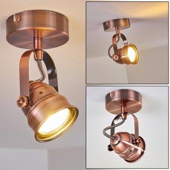 ANIAK Ceiling Light LED copper, 1-light source