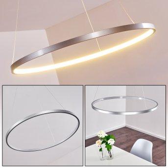 Canisteo Pendant Light LED silver, 1-light source