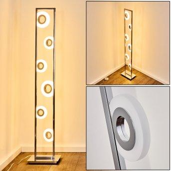Obip Floor Lamp LED chrome, 1-light source