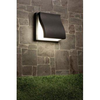 Faro Suma wall light anthracite, 2-light sources