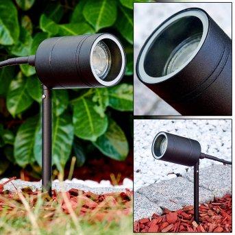 Spike Froslev LED black, 1-light source