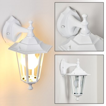 VALTIMO outdoor wall light white, 1-light source