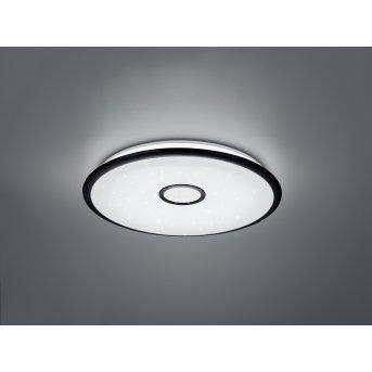 Trio OKINAWA Ceiling Light LED black, 1-light source, Remote control