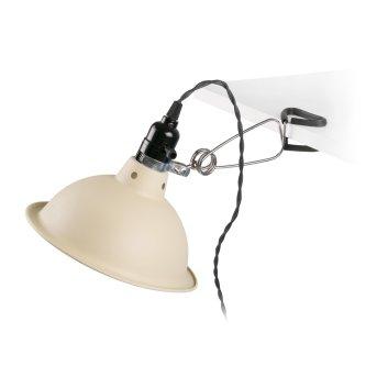 Faro Barcelona PEPPER clamp-on light chrome, black, 1-light source