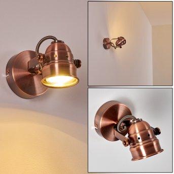 ANIAK Wall Light LED copper, 1-light source
