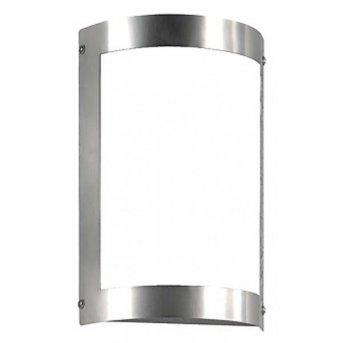 CMD AQUA MARCO Wall Light stainless steel, 1-light source