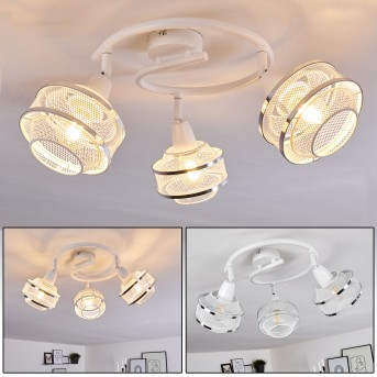 LIMASSOL Ceiling Light chrome, white, 3-light sources