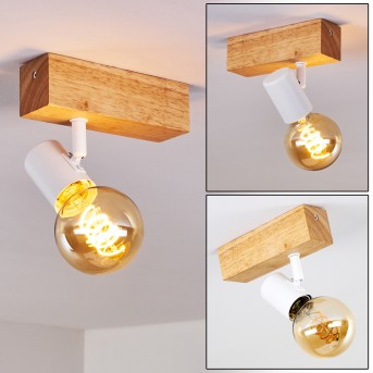 Barbengo Ceiling Light Light wood, 1-light source